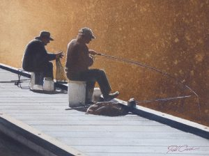 Morning Fishermen