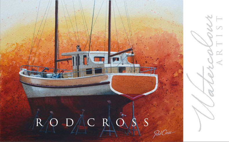 Rod Cross Water Colour Artist